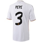 Real Madrid 13/14 PEPE Home Soccer Jersey