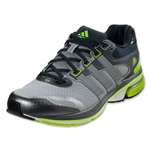adidas Supernova Glide 5 Running Shoe (Light Onyx/Metallic Silver/Electricity)