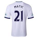 Chelsea 13/14 21 MATIC Away Soccer Jersey
