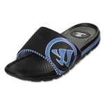 Warrior Burn Slide Sandal (Black/Blue)