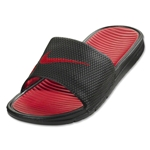 Nike Benassi Solarsoft Slide (Black/Sport Red)
