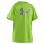 Under Armour Tech Youth Big Logo T-Shirt (Neon Green)