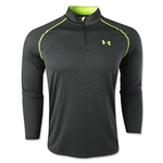 Under Armour Tech 1/4 Long Sleeve T-Shirt (Dk Gr/Yel)