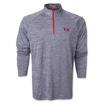 Under Armour Tech 1/4 LS T-Shirt (Dark Gray)