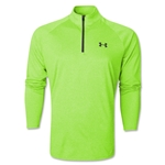Under Armour Tech 1/4 Long Sleeve T-Shirt (Neon Green)