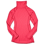 Under Armour Women's Coldgear Cozy Neck Top (Pink)