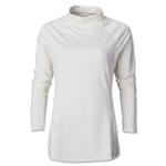 Under Armour Women Coldgear Cozy Neck Top (White)