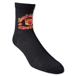 Manchester United Youth Crest Sock