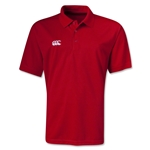 Canterbury CCC Mesh Team Polo (Red)