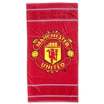 Manchester United Crest Beach Towel