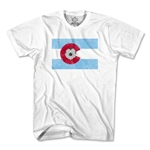 Colorado Soccer Flag T-Shirt