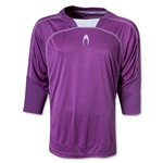HO Soccer Cool 3/4 Goalkeeper Jersey (Pur/Wht)