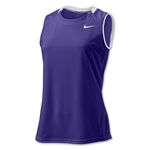 Nike Respect Sleeveless Women's Jersey (Pur/Wht)