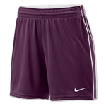 Nike Women's Respect Short (Maroon/Wht)