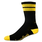 Adrenaline J-Train Eclipse Sock (Blk/Yellow)