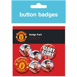 Manchester United Players Crest Badges Pack