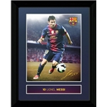 Barcelona Messi Framed Poster
