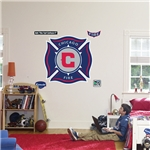 Grafico de pared del Chicago Fire hecho por Fathead