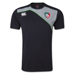 Leicester Tigers Dry Training T-Shirt (Black)