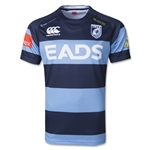 Cardiff Blues Pro 13/14 Home SS Rugby Jersey
