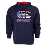 USA Rugby Flag Logo Hoody (Navy)