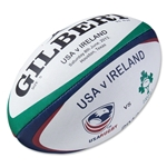 USA Rugby vs Ireland Zenon Training Rugby Ball