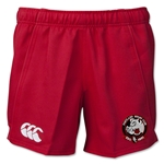 Portland Rugby Canterbury Advantage Performance Rugby Shorts (Red)