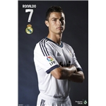 Real Madrid Ronaldo Profile Poster