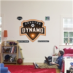 Grafico de pared del Houston Dynamo hecho por Fathead