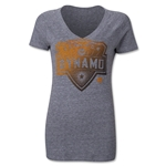 Houston Dynamo Originals Women's Halftone T-Shirt