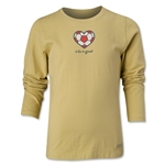 Life Is Good Soccer Heart Girls LS T-Shirt