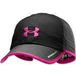 Under Armour Women's Armourlight Cap (Black/Pink)
