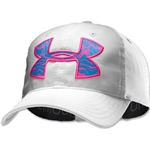 Under Armour Big Logo Adjustable Cap (White/Pink)