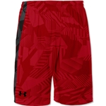 Under Armour Micro Print Short (Red/Blk)