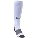Under Armour Solid Over-the-calf Sock (White)