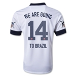 USA 2013 WE ARE GOING TO BRAZIL Centennial Soccer Jersey