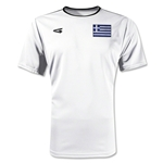 Greece Primera Soccer Jersey (White)