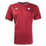 Switzerland Primera Soccer Jersey (Red)