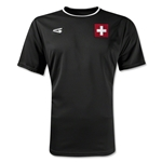 Switzerland Primera Soccer Jersey (Black)