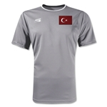 Turkey Primera Soccer Jersey (Grey)