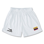 Colombia Primera Soccer Shorts (White)