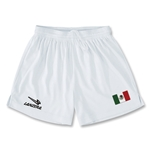 Mexico Primera Soccer Shorts (White)