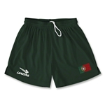 Portugal Primera Soccer Shorts (Dark Green)