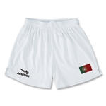 Portugal Primera Soccer Shorts (White)