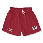 South Korea Primera Soccer Shorts (Red)