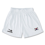 South Korea Primera Soccer Shorts (White)