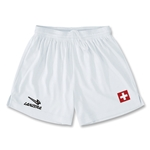 Switzerland Primera Soccer Shorts (White)