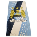 Manchester City Stripe Bath Towel