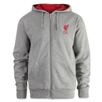 Liverpool Zip Thru Fleece Hoody