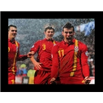 Gareth Bale Signed Photo Goal for Wales